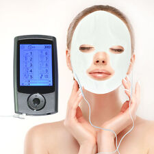 10 Modes Digital Massager Electric Therapy TENS EMS + Massage Face & Eye Masks
