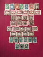 China Postage Dues 6 complete sets, Unused
