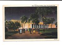 1939 New York World's Fair PC New York City Building 10/21/1939