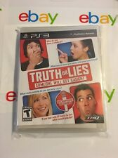 PS3 Truth or Lies (Sony PlayStation 3, 2010) BRAND NEW Game