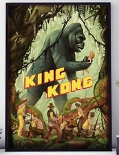 1933 King Kong Movie Film Poster Print Home Decor Wall Art Picture Free Shipping