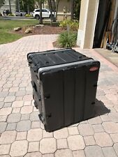 "12U SKB ROAD/RACK/ATA CASE-22.75""Hx21""Wx20.25""""D-EXCELLENT CONDITION-WILL SHIP!"