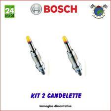 Kit 2 candelette Bosch PIAGGIO PORTER