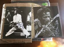 Lot Of 4 Vintage Chuck Berry Lp's On Chess Records And 2 Signed Photographs