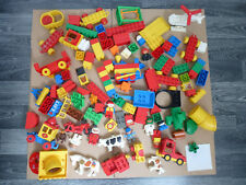 """LEGO DUPLO über 2-Kg """"Figuren, Tiere, Autos, Hubschrauber, Zug, Steine"""" (#75)"""