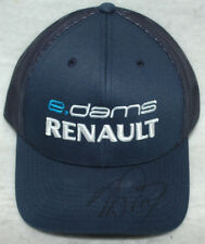 Alain Prost Signed e.dams RENAULT PERSONAL Cap / Hat