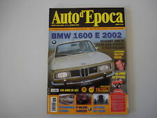 AUTO D'EPOCA 4/2006 LANCIA ESATAU/BMW 1600 e 2002/STORIA LAMBDA/WALTER ROHRL
