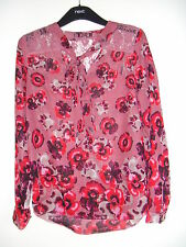 Lovely Pink Floral Top from Next, Size 10 - L@@K!!