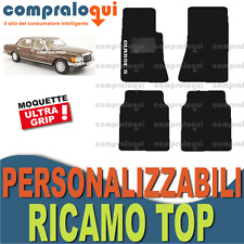 TAPPETINI per MERCEDES BENZ CLASSE S (W116) TAPPETI AUTO su MISURA + RICAMO TOP