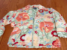 Girls THE CHILDRENS PLACE Multi Color Floral Jacket Size Small (5-6) ~NICE~