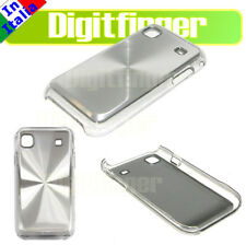 BACK COVER CRYSTAL CASE SILVER X SAMSUNG I9000 GALAXY S