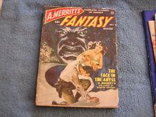 A. Merritt's Fantasy Magazine July 1950 Vol 1 #4