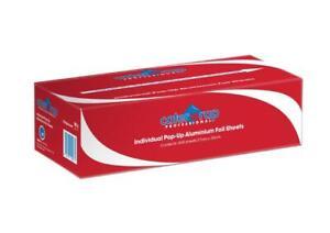 Caterwrap 27cm x 30cm Burger Foil Wraps - Dispenser Box Contains 500 Individual