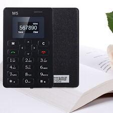 "1.0"" AIEK M5 Girls Kids Bar Ultra Thin Pocket Cell Phone Card Alarm Clock Mobile"