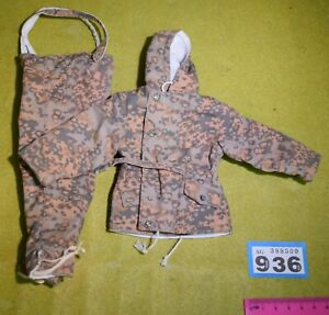 1/6 SCALE WWII GERMAN CAMO OUTFIT FOR DRAGON DREAMS DID ACTION FIGURE B936