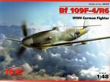 MESSERSCHMITT Bf 109 F-4 /R6 (LUFTWAFFE 1/JG52 MARKINGS) #107  1/48 ICM