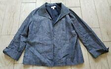 Kim Rogers Suit Jacket/Blazer size M medium - chambray blue