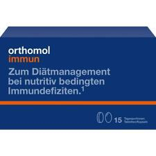 ORTHOMOL Immun, 15 Tagesportionen Tabletten / Kapseln, PZN 1319927
