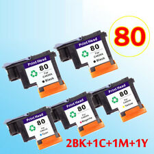 2BK+1C+1M+1Y printhead compatible for hp80 Designjet 1000 1000plus 1050 1055