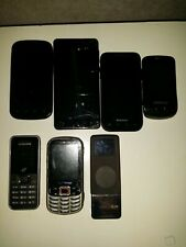 Lot of Smartphones (CM, Samsung, Pantech) Verizon and Tracfone - UNTESTED