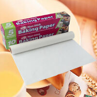 5M 10M Baking Paper Parchment Paper Rectangle Baking Sheets for Bakery BBQ Party