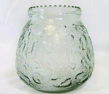 Glass Candle Holder Votive holder Cut Glass Design