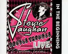 CD	STEVIE RAY VAUGHAN	live - in the beginning	EX (A0973)