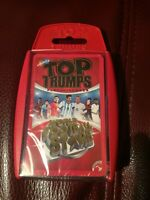 TOP TRUMPS, 'WORLD FOOTBALL STARS' - CARD GAME.  (BRAND NEW, SEALED)