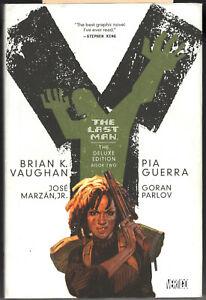 Y The Last Man vol 2 oversize HC Brian K. Vaughan (Saga) Pia Guerra