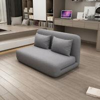 Modern Sofa Bed Convertible Folding Recliner Living Room Adjustable Floor Chair