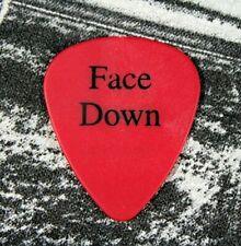Sammy Hagar / 2011 Face Down Tour Guitar Pick / Red/White Van Halen Montrose