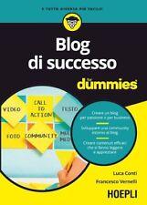 Blog di successo For Dummies. NUEVO. Nacional URGENTE/Internac. económico. ECONO