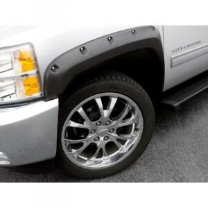 15-18 CHEVY SILVERADO 25/3500 LUND RX-RIVET STYLE ELITE S FENDER FLARES SMOOTH.