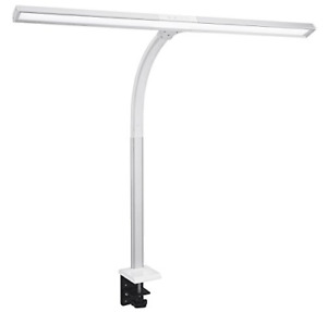 Phive LED Task Lamp, 15 Watt Super Bright Desk Lamp with Clamp, Dimmable Monitor