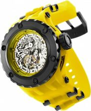 New Mens Invicta 25129 Subaqua Anatomic Automatic Skeletonized Dial Watch