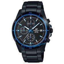 Brand New Casio Edifice EFR-526BK-1A2 Chronograph Display Watch