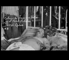 1924 Francisco Pancho Villa Death PHOTO Mexican Revolution Lying Bed Postmortem