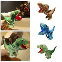 Dinosaur Hand Puppet Plush Toy Can Open Mouth Parent-child Interactive Toy New