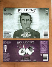 Rare Micro Beer Labels Hellbent Seattle Wa !