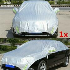 Semi-body Car Cover Waterproof Sun Shade Heat Protection Reflective Universal 1x