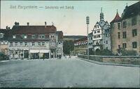 Ansichtskarte Bad Mergentheim Schüllplatz mit Schloß um 1910  (Nr.9325)