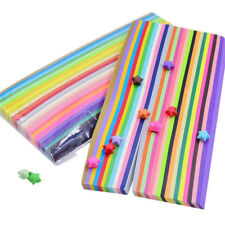 540pcs Origami Lucky Star Paper Strips Folding Paper Strips Ribbons 27 Colors