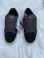 Vans Skate Shoe Torer Black Grey Mens Size 9