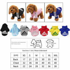 2 Leg Pet Dog Clothes Cat Puppy Coat Winter Hoodies Warm Sweater Jacket Clothing