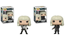 Funko Pop! Movies Atomic Blonde Lorraine 565/ 566 Set of 2 w/ Box Protector