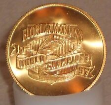 1997 Florida Marlins World Series Champions Coin 1 of 20,000 Limited Edition Mia