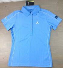 New Nike Golf Polo Small Michael Jordan Celeb Invitational Aria Las Vegas Blue