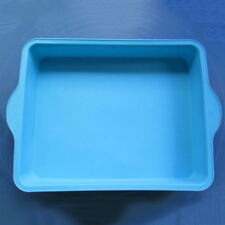New Arrive Big Silicone rectangle Baking Bareware Cake Mold Mould Pan GH