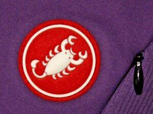 Womens EUC Purple CASTELLI Technical Cycling Jacket size L