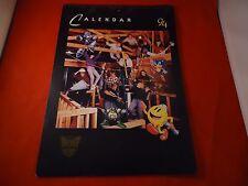 M&P Promo 1994 12-Month Calendar Ft. Star Wars Trek Flintstones NES SNES Sega